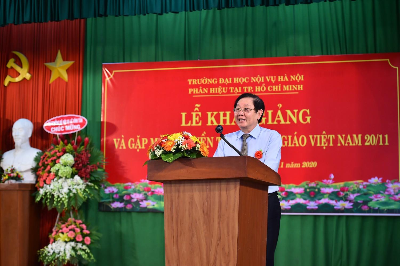 đồng chí Lê Vĩnh Tân, Ủy viên BCH TW Đảng, Bí thư Ban cán sự Đảng, Bộ trưởng Bộ Nội vụ