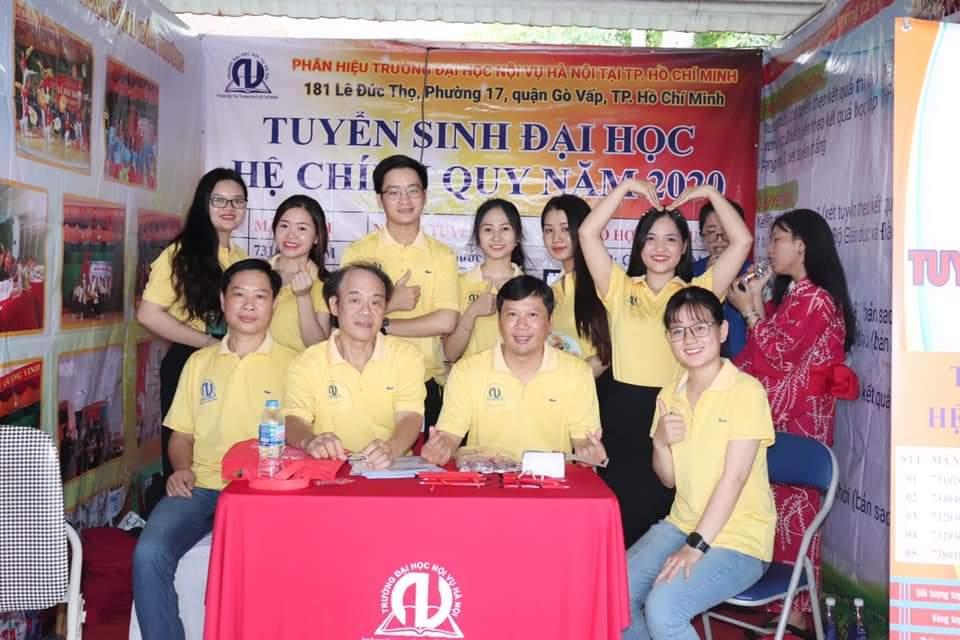 Chiến dịch tư vấn tuyển sinh tại khu vực phía Nam của Phân hiệu Trường Đại học Nội vụ Hà Nội tại TP.HCM